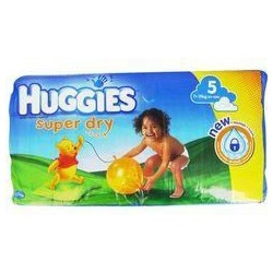 140 Couches Pampers Huggies Super Dry Taille 5 Pas Cher Sur Layota