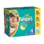 Maxi Pack 264 Couches Pampers Baby Dry sur layota