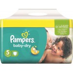 Pack 30 Couches de Pampers Baby Dry sur layota
