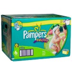 198 Couches Pampers Baby Dry taille 6