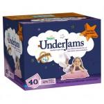 40 Sous-vêtements jetables Pampers Underjams  pour Filles taille S/M