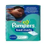 Pack de 7 Alèses de lits Pampers sur layota