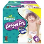 Pack de 76 Couches de Pampers Active Fit sur layota