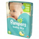Pack de 42 Couches Pampers Baby Dry sur layota