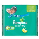 Pack de 38 Couches Pampers de Baby Dry sur layota