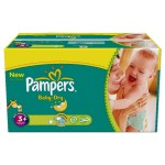 476 Couches Pampers Baby Dry taille 3+