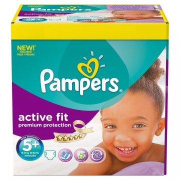 174 Couches Pampers Pampers Active Fit Taille 5 Moins Cher Sur Cou Ches