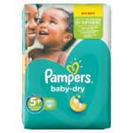 Pack 43 Couches Pampers Baby Dry sur layota