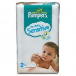 Pack 60 Couches Pampers de New Baby Sensitive sur layota