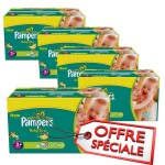 Giga Pack 680 Couches de Pampers Baby Dry sur layota