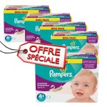 950 Couches Pampers Active Fit taille 4+
