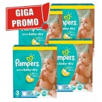 Maxi giga pack 814 Couches de Pampers Active Baby Dry sur layota