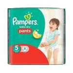 Pack 21 Couches Pampers d'Active Baby Dry sur layota