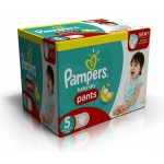 210 Couches Pampers Active Baby Dry taille 5