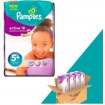 Pack économique de 348 Couches Pampers Active Fit sur layota
