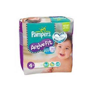 46 Couches Pampers Active Fit taille 4