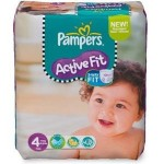 Pack de 78 Couches Pampers Active Fit sur layota