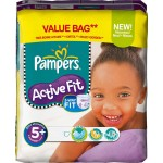 58 Couches Pampers Active Fit taille 5+