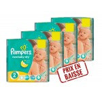 Maxi Pack 272 Couches de Pampers New Baby Dry sur layota