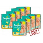 408 Couches Pampers New Baby Dry taille 2