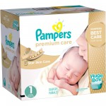 Maxi Giga pack 164 Couches de Pampers Premium Care sur layota
