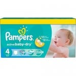 Pack 132 Couches Pampers Active Baby Dry sur layota