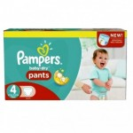 Pack 94 Couches Pampers Baby Dry Pants sur layota
