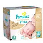 Maxi Giga pack de 324 Couches Pampers de Premium Care sur layota