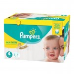 168 Couches Pampers Premium Protection - New Baby taille 4