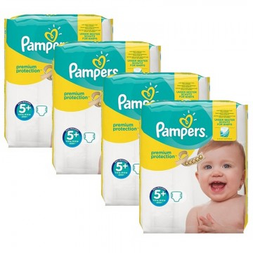 160 Couches Pampers Pampers Premium Protection Taille 5 Moins Cher