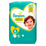 Pack 120 couches Pampers New Baby Premium Protection