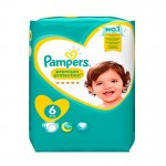 31 Couches Pampers Premium Protection - New Baby taille 6