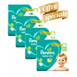 308 Couches Pampers Baby Dry taille 7