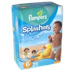 21 Couches de bains Pampers Swimming Pants Splachers taille 6