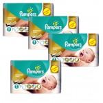 Maxi Giga Pack 266 Couches New Baby Premium Care