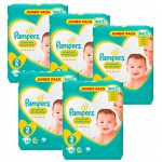 340 Couches Pampers New Baby - Premium Protection taille 2