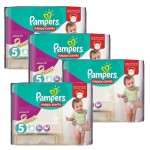 330 Couches Pampers Active Fit taille 5