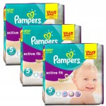 141 Couches Pampers Active Fit taille 5