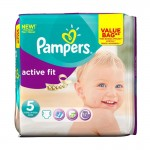 47 Couches Pampers Active Fit taille 5
