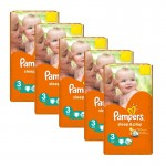 166 Couches Pampers Sleep & Play taille 3