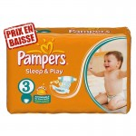 83 Couches Pampers Sleep & Play taille 3