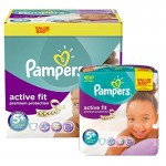 288 Couches Pampers Active Fit - Premium Protection taille 5+