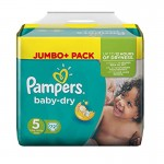 Pack 72 couches Pampers Baby Dry