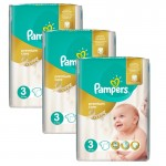 180 Couches Pampers Premium Care - Prima taille 3