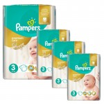 240 Couches Pampers Premium Care - Prima taille 3