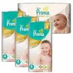 240 Couches Pampers Premium Care - Prima taille 4