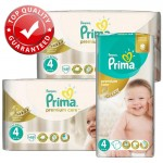 560 Couches Pampers Premium Care - Prima taille 4