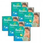 288 Couches Pampers Active Baby Dry taille 4+