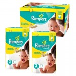 Giga Pack 150 couches Pampers New Baby Premium Protection