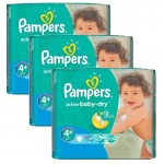Giga Pack 140 Couches Pampers Active Baby Dry
